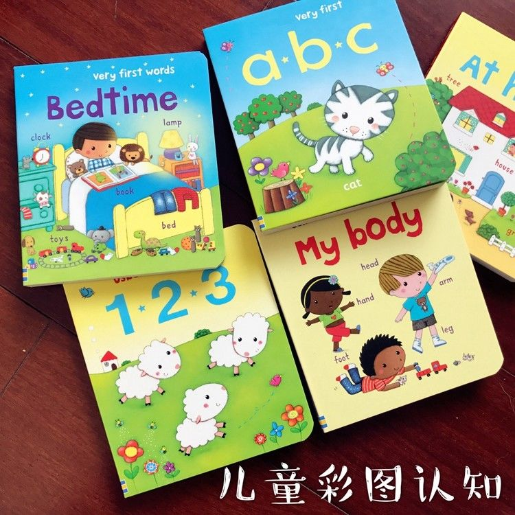 Preschoolers Children'S Board Book Printing And Binding Services Foil Stamping